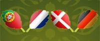 Portugal – Holandija | Danska – Nemačka