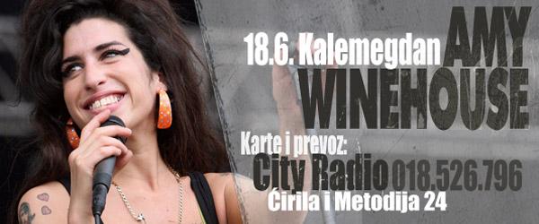Koncert: Amy Winehouse