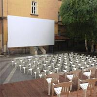 Prvi bioskop na otvorenom u Nišu