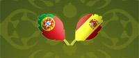 Polufinale Euro 2012: Portugal – Španija