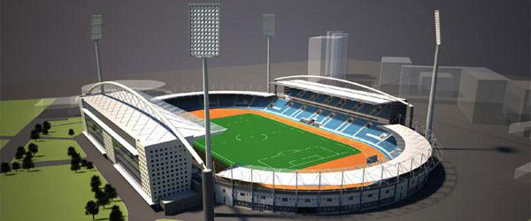 Počinje rekonstrukcija stadiona Čair