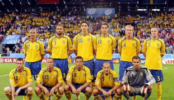 Švedska – EURO 2012