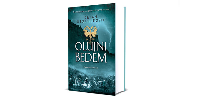 """Novi roman Dejana Stojiljkovića """"Olujni bedem"""""""