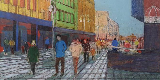 Duh Niša – izložba akademskog slikara Aleksandra Markovića
